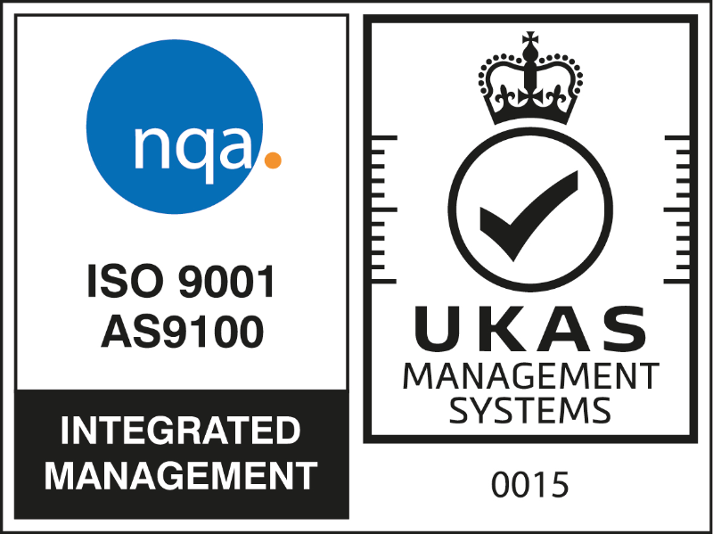 ISO 9001 AS9100 | UKAS Management Systems 0015